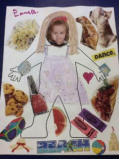 All About Me Projects to do with family, also incorporates environmental prints; display in classroom, hallways, etc.