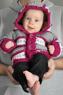 Dylan Cardigan crochet pattern by Sincerely Pam. Perfect for a baby shower gift for any boy or girl! This pattern includes instructions for sizes newborn to 24 months.