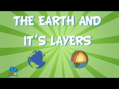 The Earth and it´s layers  | Educational Video for Kids - YouTube