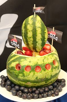 Fruit Pirate ship