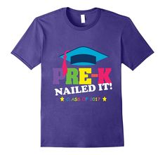 Customised school leavers t-shirt, your name/'s last day autographs cute design