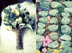 beautiful spiritual wedding in the woods
