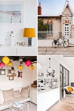 a beautiful townhouse in bordeaux, france by the style files, via Flickr