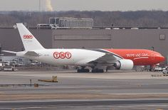 TNT (Southern Air), Boeing 777 (777-200), N778SA, at JFK, New York, USA. Feb 2012
