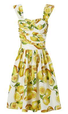 Lemon print day dress  http://3.bp.blogspot.com/-DXMrQ_rbilA/TeC6Xfu_fpI/AAAAAAAAEoU/R_711XAUvPA/s1600/LEMON%2BPRINT%2BDRESS%2B9%2BBEG%2BMAY.jpg