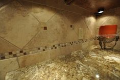Granite Countertops and Tile Backsplash Ideas - eclectic - kitchen - indianapolis - Supreme Surface, Inc.
