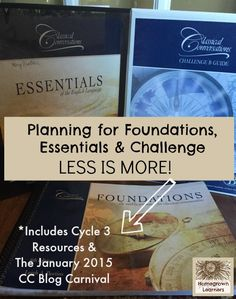 Classical Conversations: The Curriculum is Not Your Master - including the January Blog Carnival with loads of Cycle 3 resources!