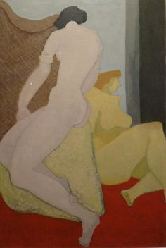 "Milton Avery ""Nudes"". LOVE this painting at Crystal Bridges"