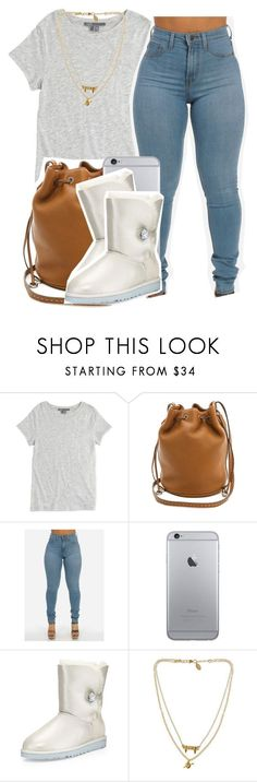 """Basic Bïtch Season"" by ariangrant ❤ liked on Polyvore featuring Vince, Michael Kors, UGG Australia and Bee Charming"