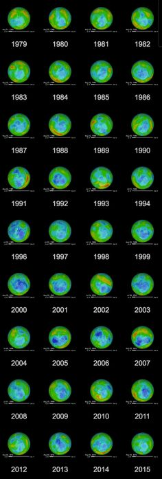 Decades after the Montreal Protocol, there are signs the hole in the ozone layer has begun to heal