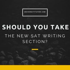 What every student should know about the redesigned SAT's writing section (and how it is scored). #SAT #TestPrep