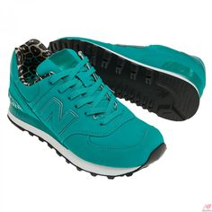 New Balance Classic Ladies 574 High Roller - Teal