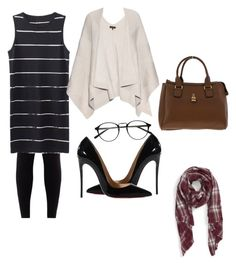 """""""Workaholic"""" by nikensuryadi on Polyvore featuring Christian Louboutin, rag & bone and Sole Society"""