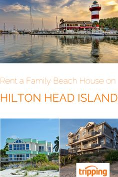 Family vacation time! Hilton Head Island in South Carolina has been a favorite family getaway for years. There are so many things to do, family-friendly restaurants, and plenty of beach and golf opportunities. Search Tripping.com to find the best variety of beach houses and other Hilton Head vacation rentals - we partner with top rental sites to give you everything you need in one place. Click, search, book, and get the family ready for a great vacation! Vacation Rentals, Vacation Ideas, Family Getaways, Grain Of Sand, Hilton Head Island, Great Vacations, Beach Houses, Us Travel, South Carolina