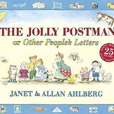 The Jolly Postman - By Allan Ahlberg (Hardcover) : Target The Purple, Writing Fantasy, Writing A Book, Letter Writing, Roald Dahl, Narnia, Interactive Books For Kids, Good Books, My Books