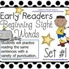 The students will practice reading the same sentences on one slide with a variety of punctuation.  Each slide says the same sentence three differen...