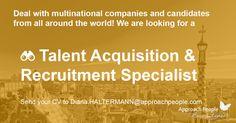 Talent Acquisition & Recruiting Specialist wanted http://www.approachpeople.com/international/job-description/?id_job=13133 #jobfairy #Spain #JobSeekers #hiring #EMEA