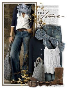 Fall Time by cynthia335 on Polyvore featuring Marni, PRPS, Bed Stu, Flora Bella, COWBOYSBELT and LOFT