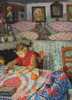 Izsák Perlmutter (Hungarian) : In the Parlour, (aka. inside Baba Yaga's hut - if I were Baba Yaga.)