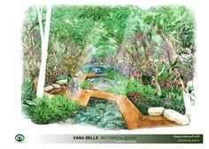 ORCHID GARDEN PERSPECTIVE Orchids Garden, Perspective, Artist, Artists