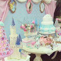 Cinderella Birthday Party Ideas | Photo 1 of 21 | Catch My Party