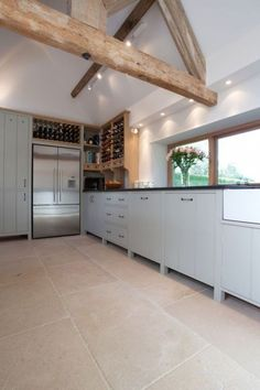Kitchen Designs With Wooden Beams   ComfyDwelling.com #PinoftheDay #kitchen  #designs #