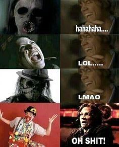 SupernaturaL ~ Sam (: I feel ya Sammy clowns are seriously scary shit