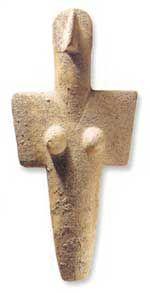 Mater Mediterranea - idoletto cicladico, III millenio A.C. #Sardegna antica #Archeologia
