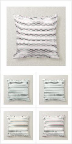 Accent your home with custom pillows from Zazzle and make yourself the envy of the neighborhood. Made from high-quality Simplex knit fabric, these 100% polyester pillows are soft and wrinkle-free. The heavyweight stretch material provides beautiful color.. #pillow #square #homedecor #home #interiordesign #interiors #interiorstyling #bedroom #bedroomdecor #oblong #zazzle #zazzlemade #zazzlecom #zazzlestore #stripes #white #square
