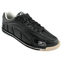 3G Men s Tour Ultra Black Bowling Shoes are made of kangaroo leather This leather has proven to be stronger, yet more flexible than other leathers .