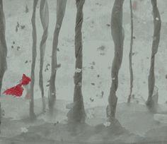 Le Petit Chaperon rouge : création papier /  paper