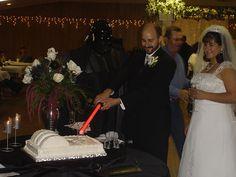 lol! star wars wedding!