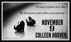 #November9 #ColleenHoover