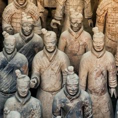 size: Photographic Print: China Collection - Army of Terracotta Warriors - Shaanxi Province by Philippe Hugonnard : Dragons, Famous Pictures, John The Baptist, Tropical Art, World Trade Center, Banksy, One In A Million, Ancient History, Art World