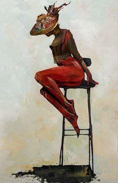 Bruce Holwerda Japanese Artists, Art Drawings Sketches, Figure Painting, Portrait Art, Figurative Art, Love Art, Female Art, Art Reproductions, Fantasy