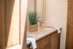 Traditional Neutral Master Bath | construction2style  Shower Floor |The Tile Shop, Broken Brushed Volcano Cobble 14×14| $11.99 sq ft.Shower Wall Surround |The Tile Shop, Queen Beige Polished 3×6| $13.99 sq ft.Niche |The Tile Shop, Australia Caberra Stria Mosaic Tile 12×12| $39.99 sq ft.Bathroom Floor |The Tile Shop, Nordic Brown| $4.99 sq ft.Vanity |Custom built by construction2styleDecor |Anna Bailey