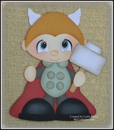 Items similar to Thor Super Hero Avenders Premade Scrapbooking Embellishment Paper Piecing on Etsy Sand Crafts, Paper Crafts, Hero Crafts, Crafts For 3 Year Olds, Craft Museum, Free Adult Coloring Pages, Paper Piecing Patterns, Diy Arts And Crafts, Illustrations And Posters