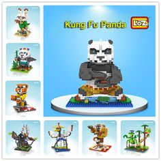 Our favourite Panda is back this January!! And new Kung Fu Panda3 series LOZ blocks will be released in January 15th
