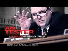 """John Tester: Not the kind of Leader Montana needs"" is an ad from the U.S. Chamber of Commerce. It opposes Sen. Jon Tester, D-Mont. 7/25/12"