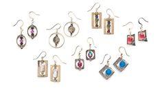 Tiny works of art earrings