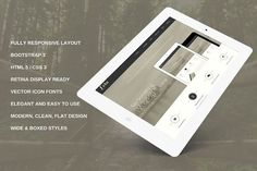 Leto Bootstrap Responsive Theme by IceTemplates on @creativemarket