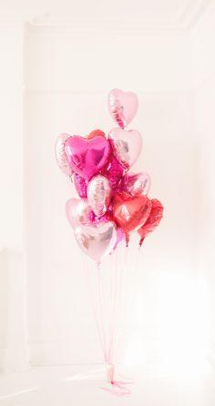 heart balloons forever