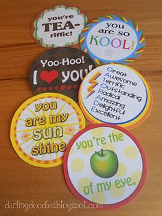 More cute printables ;)