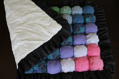 Not really a quilt but I still want to make one! Bubble Quilt - Puff Blanket - Biscuit Quilt