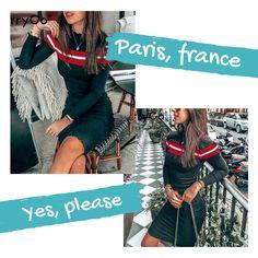 966c9df0d75 BerryGo Casual striped sweater knitted bodycon dress Women elegant pullover  2018 ladies dresses Autumn winter short dress jumper