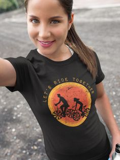 Let's Ride Together Let's Ride Together Shirt! We ship worldwide - buy today! Together Lets, Bike Wear, Us Shipping, Bohemian Interior, Bike Style, Street Bikes, Bike Life, Bmx, Let It Be