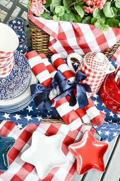 Of july decor, fourth of july food, of july fireworks Fourth Of July Decor, 4th Of July Fireworks, 4th Of July Celebration, 4th Of July Decorations, 4th Of July Party, July 4th, Table Decorations, Patriotic Crafts, Patriotic Party