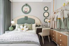 Small Room Design, Kids Room Design, Home Room Design, Cheap Bedroom Furniture, Space Saving Furniture, Baby Room Decor, Bedroom Decor, Boys Bedroom Paint, Bedroom Flooring
