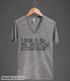 Will need this someday. I survived my dietetic internship.