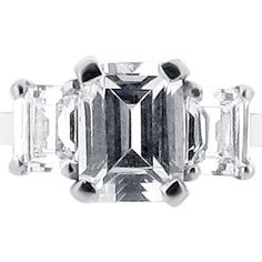 Emerald Cut Three Stone #wedding #engagementring #diamonds #diamondring #engagementrings #jewellery #diamond #bride #ido #weddinginspiration #loveit #inlove #t4l #likeback #vsco #like #tagsforlikes #tags4like #Follow #followme
